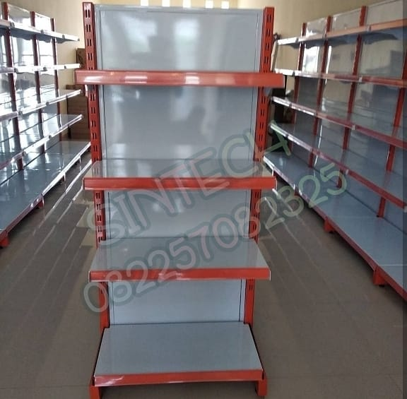 Fullplat Model - Rak Supermarket Backpanel